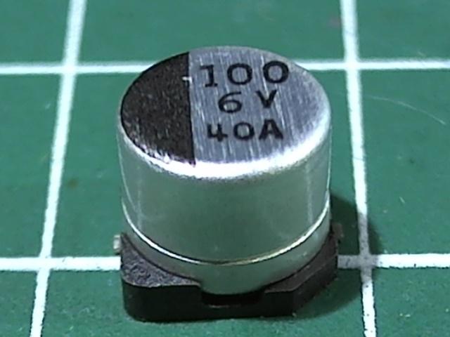 100мкФ 6,3В SC