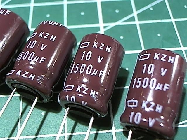 1500мкФ 10В Nippon