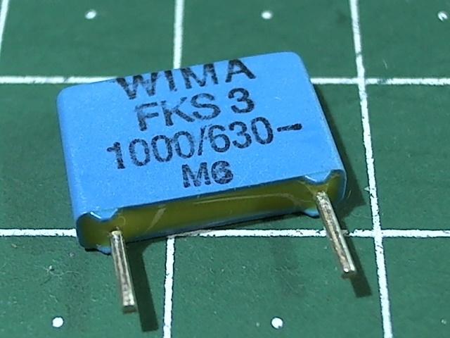 1000пкФ 630В 5% FKS-3