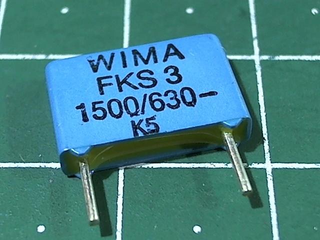 1500пкФ 630В 5% FKS-3