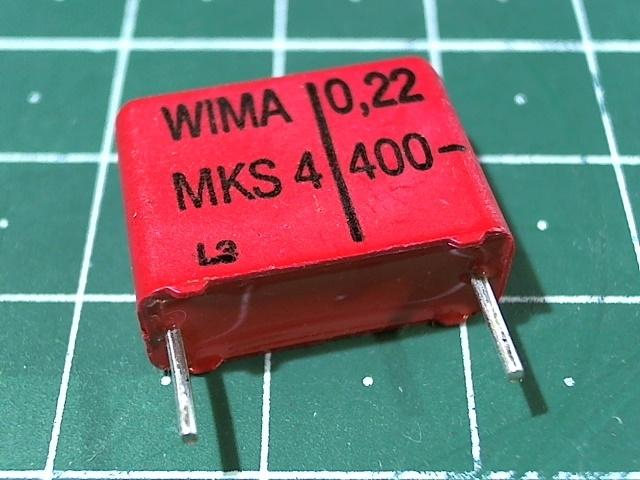 0,22мкФ 400В 20% MKS-4