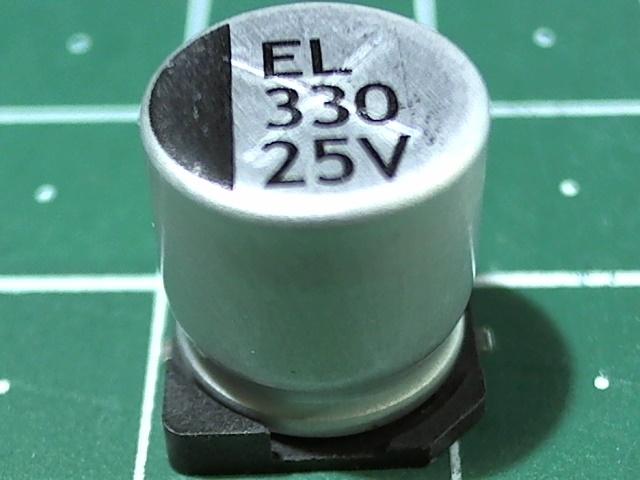 330мкФ 25В ELNA