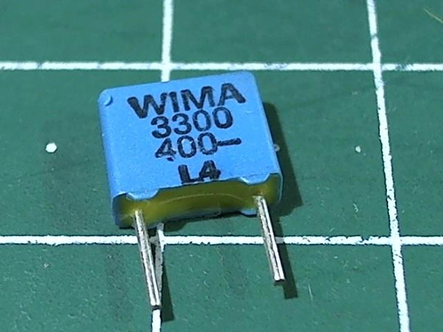 3300пкФ 400В 5% FKS-2