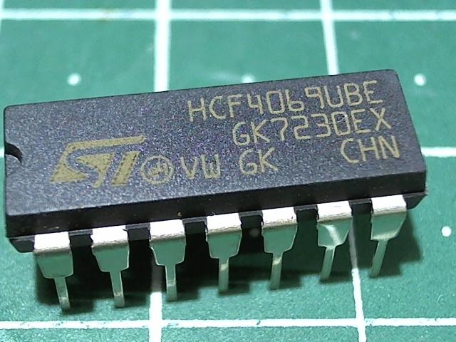 HCF4069UBE (1561ПУ7)