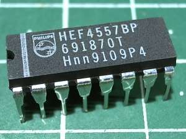 HEF4557BP