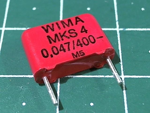 0,047мкФ 400В 5% MKS-4