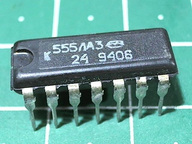 К555ЛА3 (74LS00)