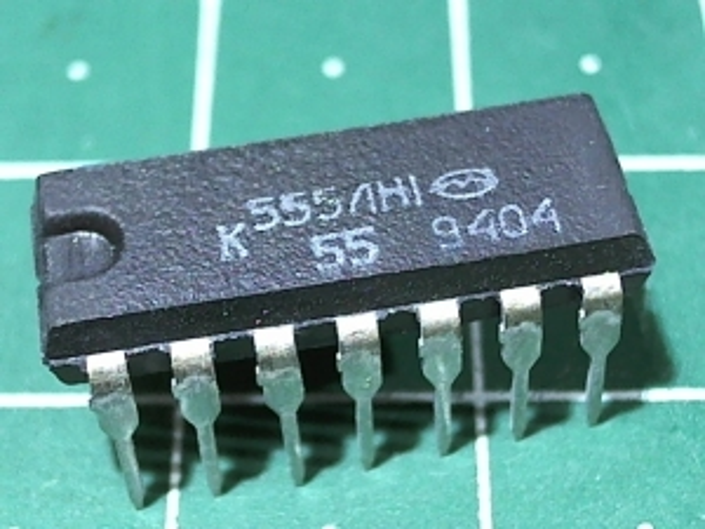 К555ЛН1 (74LS04)