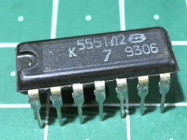 К555ТЛ2 (74LS14)