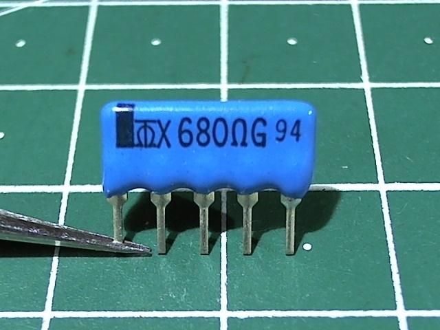 680 Ом 5X680R