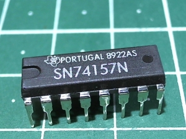 SN74157N  (К155КП16)
