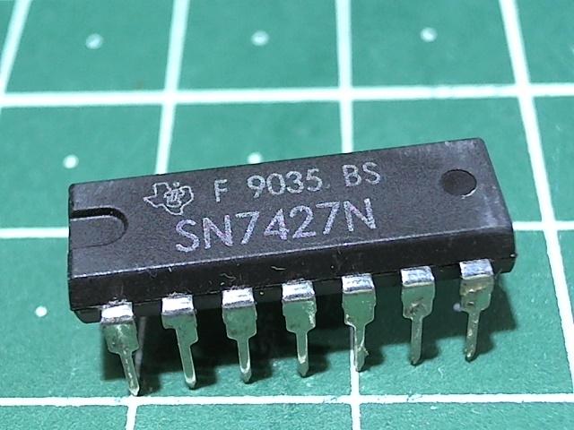 SN7427N (К155ЛЕ4)-