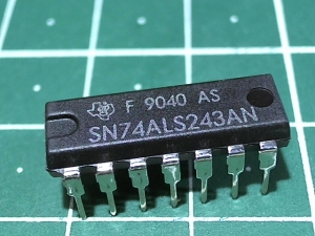 SN74ALS243N (1533ИП7)