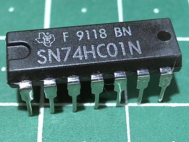 SN74HC01N (1564ЛА8)