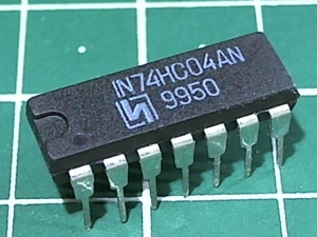 IN74HC04AN (1564ЛН1)