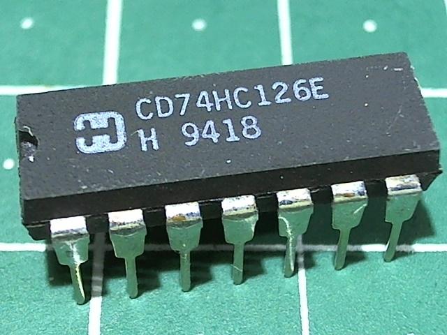 CD74HC126E (1564ЛП14)