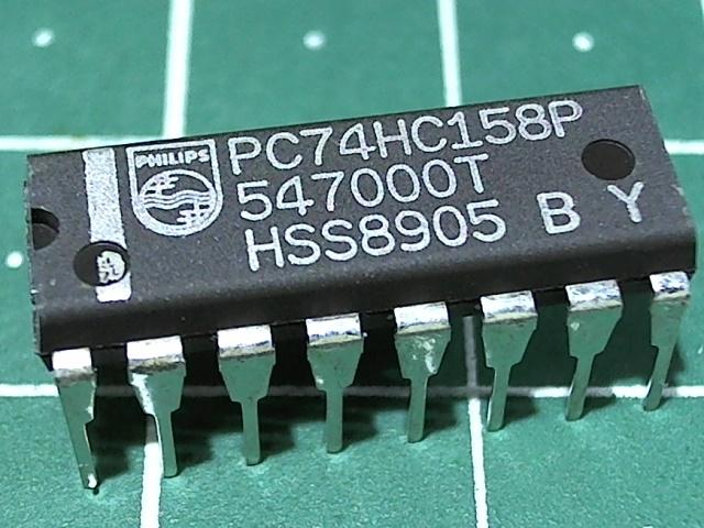 PC74HC158P (1564КП18)