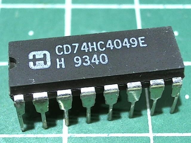 CD74HC4049E (1564ПУ1)