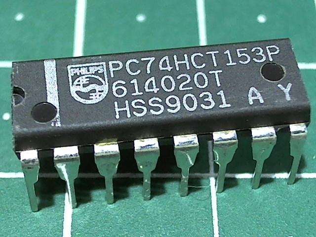PC74HCT153P (КП2)