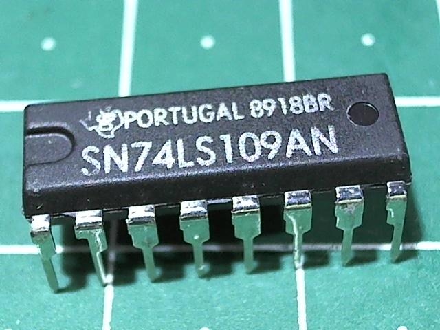 SN74LS109AN  (555ТВ15)