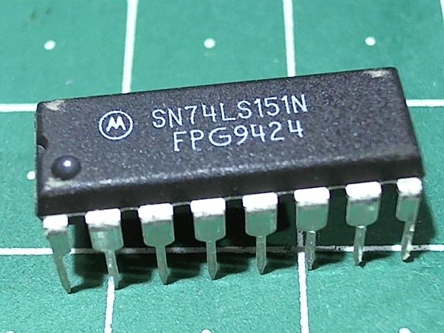 SN74LS151N (555КП7)