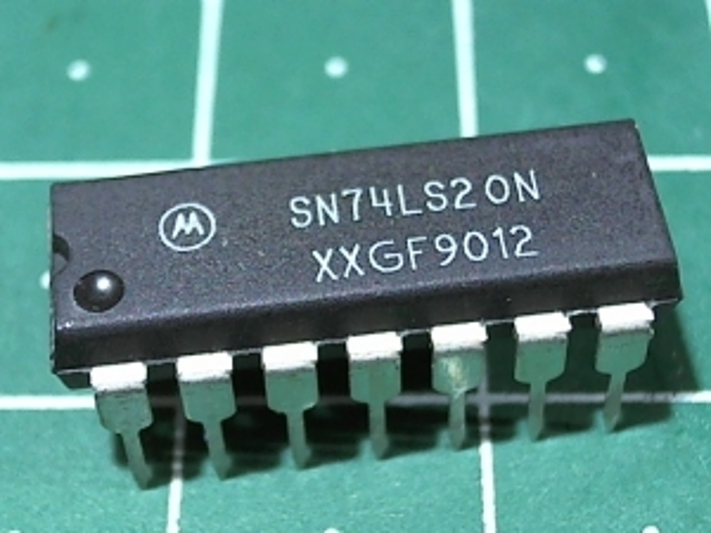 SN74LS20N (555ЛА1)