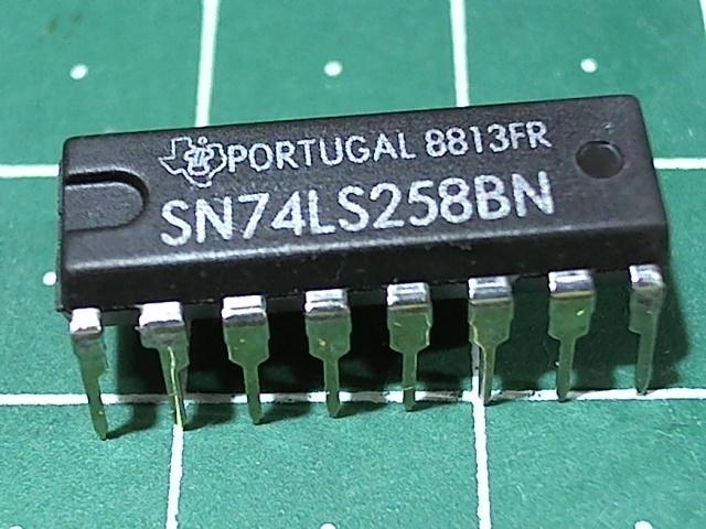 SN74LS258N (555КП14)