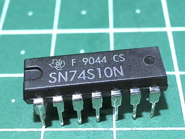 SN74S10N  (К531ЛА4)