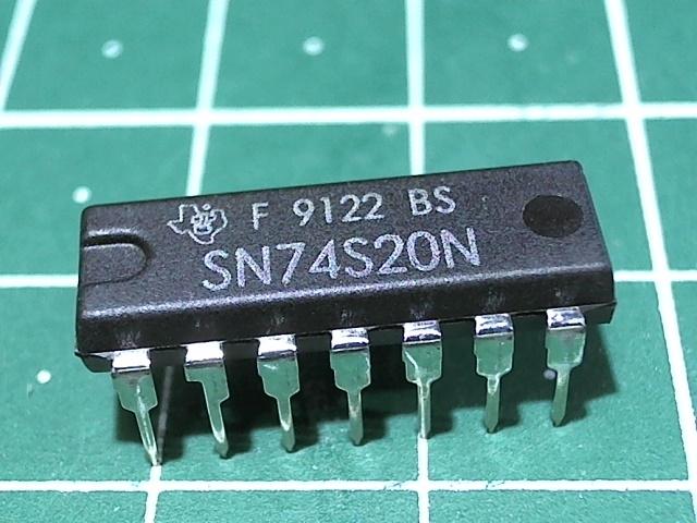 SN74S20N  (К531ЛА1)