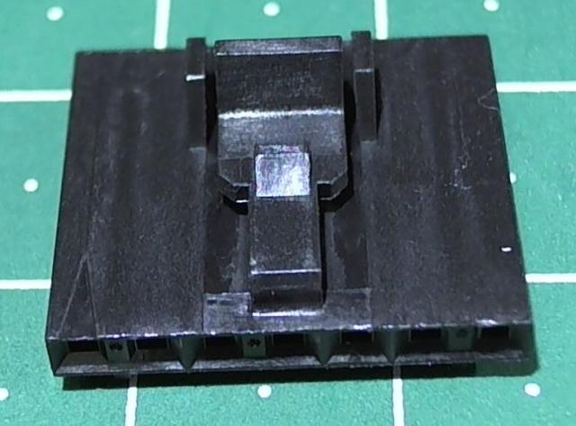 розетка на кабель 7конт. шаг 2,54мм