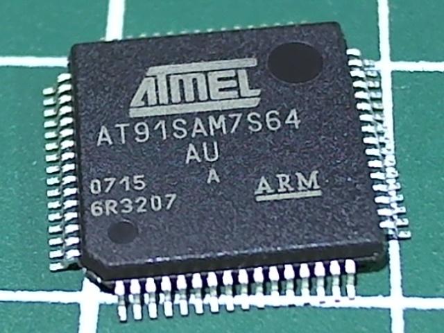 AT91SAM7S64-AU-001