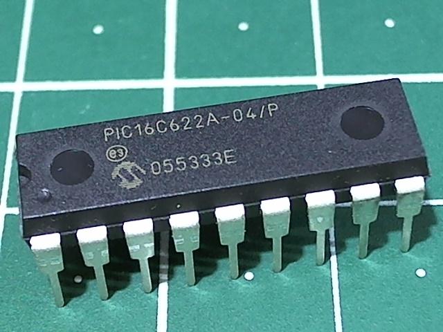 PIC16C622A-04/P