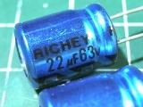 22мкФ 63В RICHEY