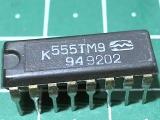 К555ТМ9 (74LS174)