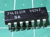 74LS132N  (К555ТЛ3)