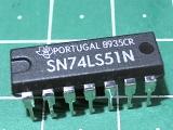 SN74LS51N (555ЛР11)