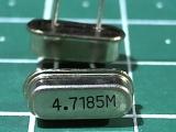 HC-49US 4,7185 мГц