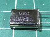 HC-49U 10,245 мГц