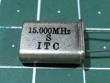 HC-49U 15,000 мГц