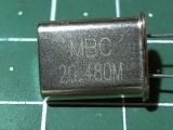 HC-49U 20,480 мГц