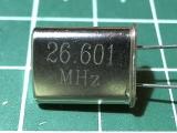 HC-49U 26,601 мГц