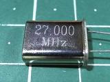 HC-49U 27,000 мГц