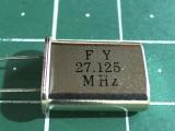 HC-49U 27,125 мГц