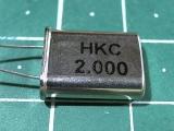 HC-49U 2,000 мГц