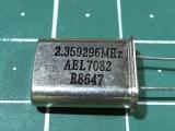 HC-49U 2,359296 мГц
