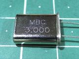 HC-49U 3,000 мГц