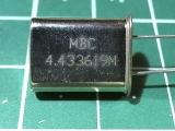 HC-49U 4,433619 мГц