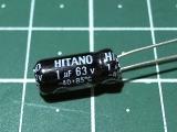 1мкФ 63В Hitano