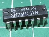 SN74HC51N (1564ЛР11)